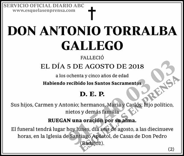 Antonio Torralba Gallego
